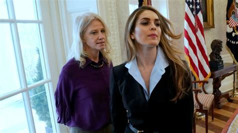 House Intel on Hope Hicks' Testimony: 'We Got Bannoned'