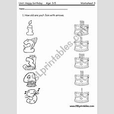 The Age 2 Worksheet For Very Young Children  Esl Worksheet By Victor