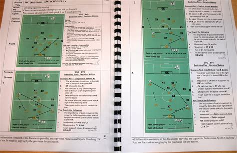 section   coaching uefa  practice session plans