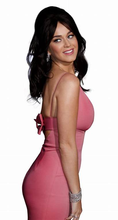 Katy Perry Transparent Purple Pink Beauty Singer