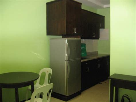 studio type kitchen design studio condominium for rent sm cebu city philippines 5914