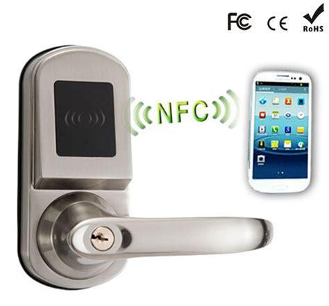 nfc door lock bluetooth remote hotel smart door locks nfc door lock