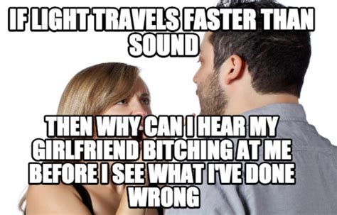 Sex Memes Funny - if light travels faster than sound meme jokes memes pictures