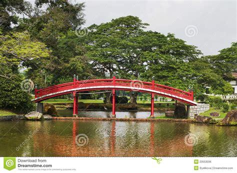 Japanischer Garten Singapur by Japanischer Garten In Singapur Stockfoto Bild