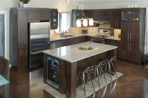 cuisine ilot centrale design modele cuisine avec ilot avec ilot central cuisine
