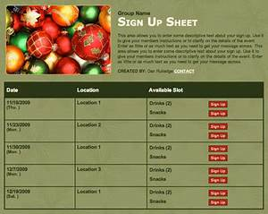 Holiday Potluck Signup Sheet Template 35 Easy Holiday Gift Ideas For Co Workers