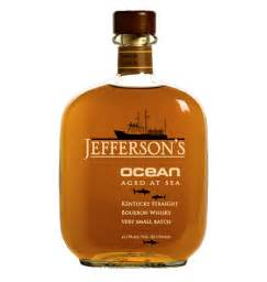 Jefferson Ocean Aged Bourbon at Sea