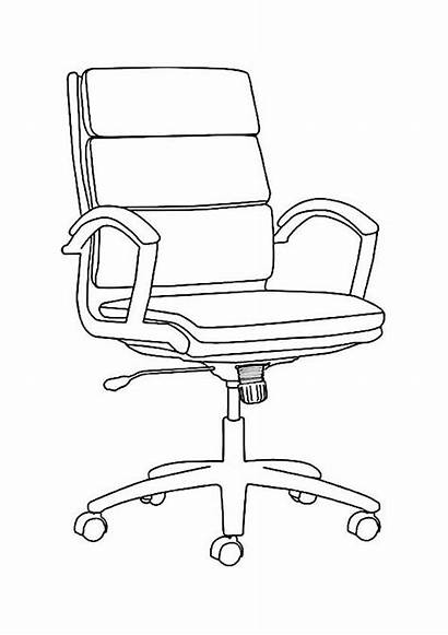 Coloring Furniture Pages Alone Mebel Coloringtop