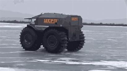 Russian Truck Sherp Atv Vehicle Built Apocalypse