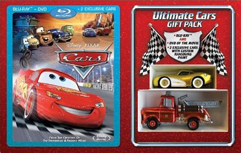 Cars Gift Set (combo Pack With Dvd) [blu-ray] On Dvd Blu