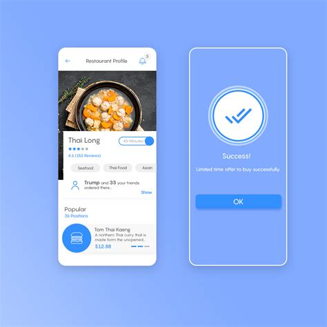food delivery app mobile app uiux  behance