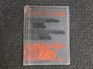 1985 Gmc C1500 C2500 C3500 Factory Electrical Wiring