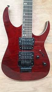 Jual Beli Gitar Listrik Ibanez Premium Merah Baru