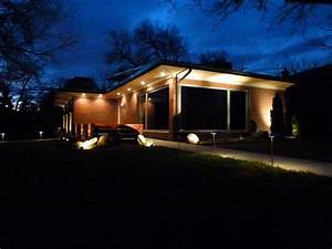 Exterior Led Soffit Lighting : Cool and Dramatic Led