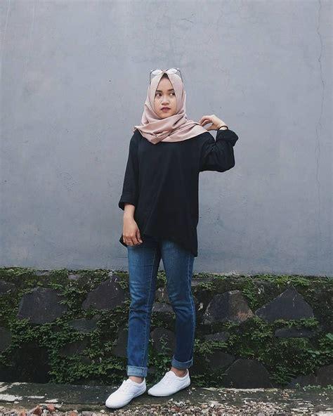 ootd hijab instagram style hijab casual tutorial hijab