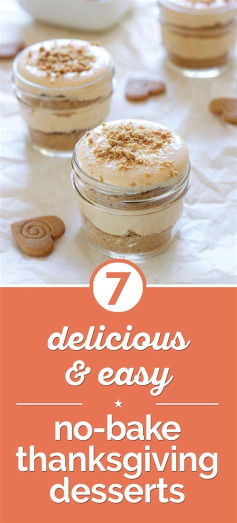 easy thanksgiving recipes desserts 8 easy no bake thanksgiving desserts ovens thanksgiving and the o jays