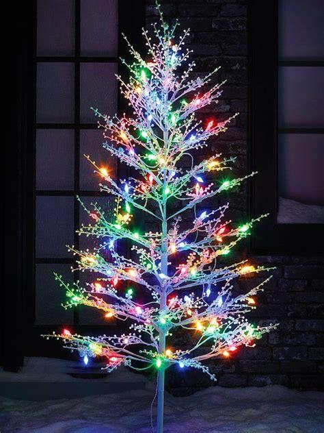 christmas tree lighting installed best 25 led tree ideas on led