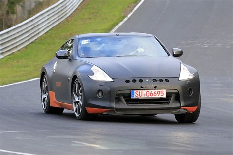 New Nissan 370Z replacement spotted at the Nurburgring ...