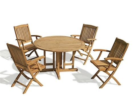 berrington drop leaf garden table and arm chairs