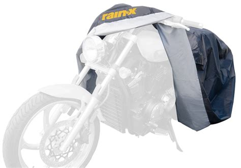 Rainx Universal Black & Silver Motorcycle Covers Rnx