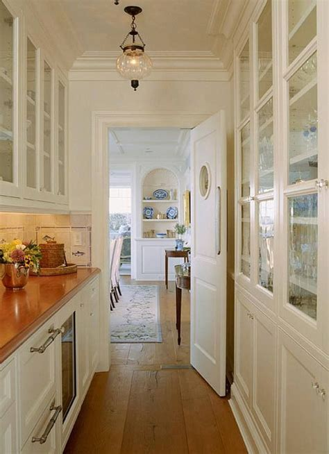 small narrow butlers pantry   house