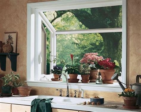 kitchen bay windows sink d 233 corez vos fen 234 tres avec des plantes vertes d int 233 rieur 7730