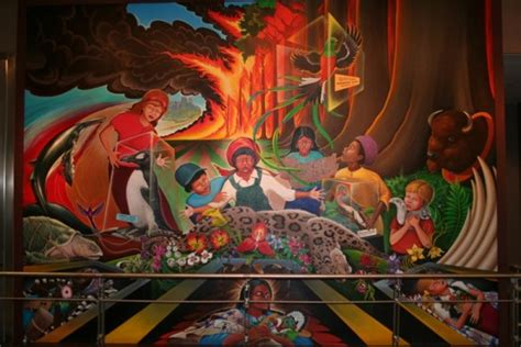 the real story behind the denver airport murals top