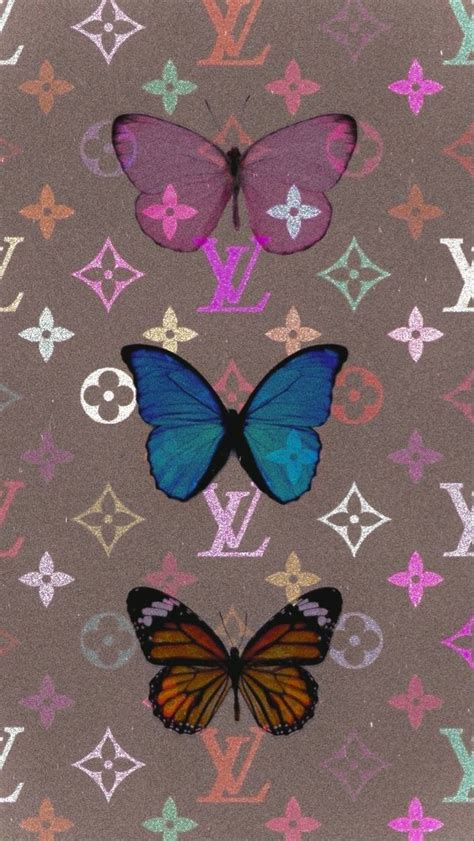 louis vuitton butterfly wallpaper butterfly wallpaper