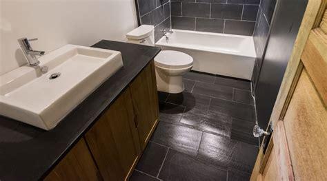 Slate Bathroom Tile Installation