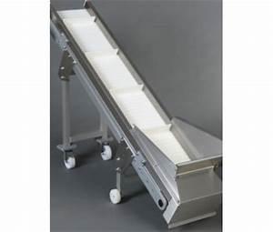 convoyeur tapis modulaire elevateur a chassis aluminium With convoyeur à tapis