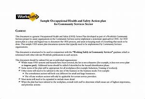 health and safety plan templates 10 free word pdf With workplace safety program template