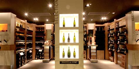 agencement sur mesure cave  vin