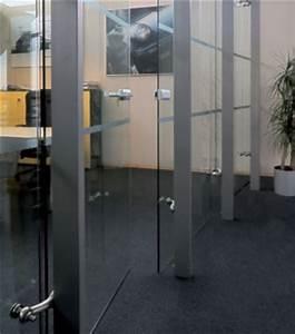 porte en verre porte clarit 8mm et securit 10mm sauvat With porte d entrée en verre securit