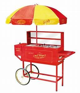 Hot Dog Stand : nostalgia electrics hdc 701 vintage collection carnival hot dog cart umbrella sharell store ~ Yasmunasinghe.com Haus und Dekorationen