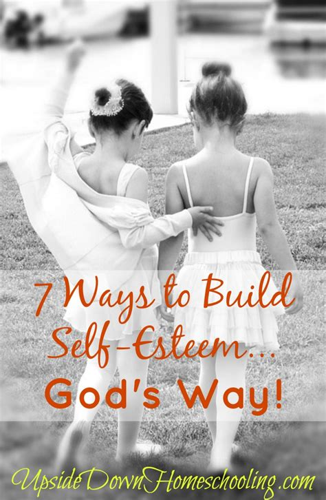7 Ways To Build Self Esteemgod's Way