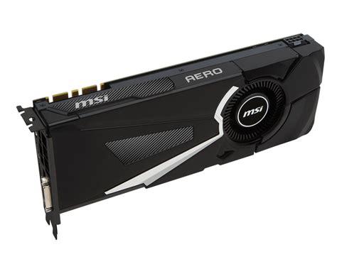 MSI announces GeForce GTX 1070 GAMING X, Sea Hawk and AERO