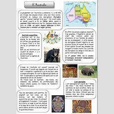 L'australie Histoire Et Vie Quotidienne Cycle 3  Australie  Australia, Education Et School