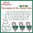 meaning of the candy cane poem | The Legend of the Candy ...