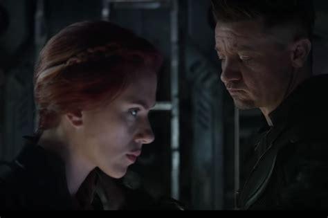Avengers Endgame Scarlett Johansson Black Widow Almost