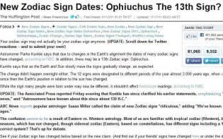 New Zodiac Signs Dates