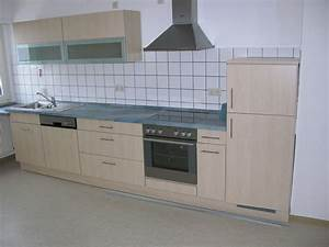 Kuchenzeile birkenfarben inkl elektrogerate 68549 for Gebrauchte küchenzeile