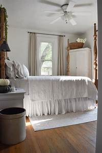 Painting, Our, Walls, The, Perfect, White, Cottagebedroom