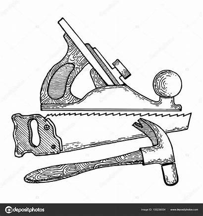 Tools Carpentry Drawing Vector Getdrawings
