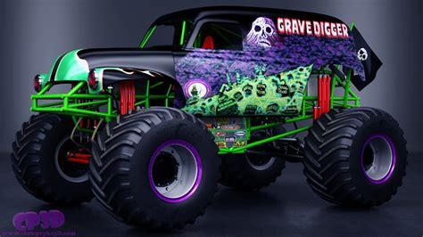 monster trucks youtube grave digger grave digger monster truck max