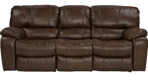 999 99 alpen ridge brown power reclining sofa