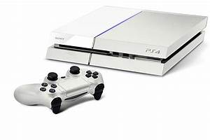 How about a white PS4 with orange trim? - Cheats.co