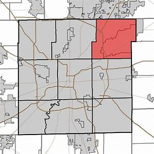File:Map highlighting Lawrence Township, Marion County ...