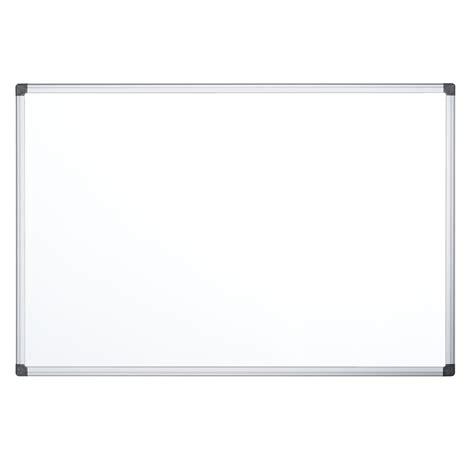 fourniture de bureau bi office tableau blanc émaillé 180 x 90 cm tableau