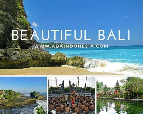 4 Beautiful Places In Bali Ada Indonesia