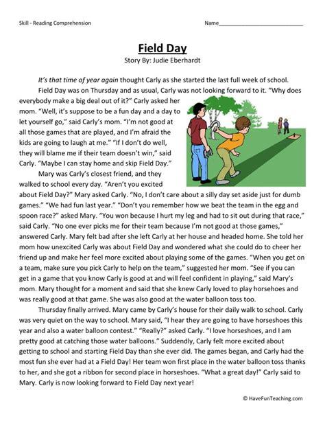 4th grade social studies comprehension worksheets